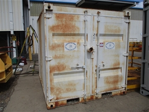 8 Foot Cube Container/Contents