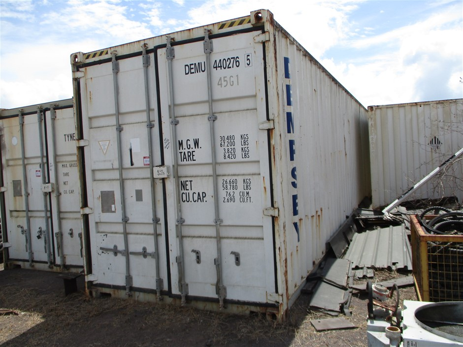 40 Foot Shipping Container