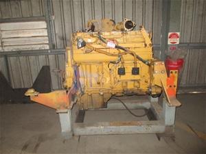 Caterpillar C-10 Turbo Diesel Engine