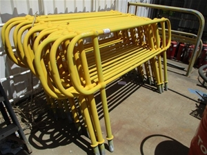 Qty 16 Handrail Sections