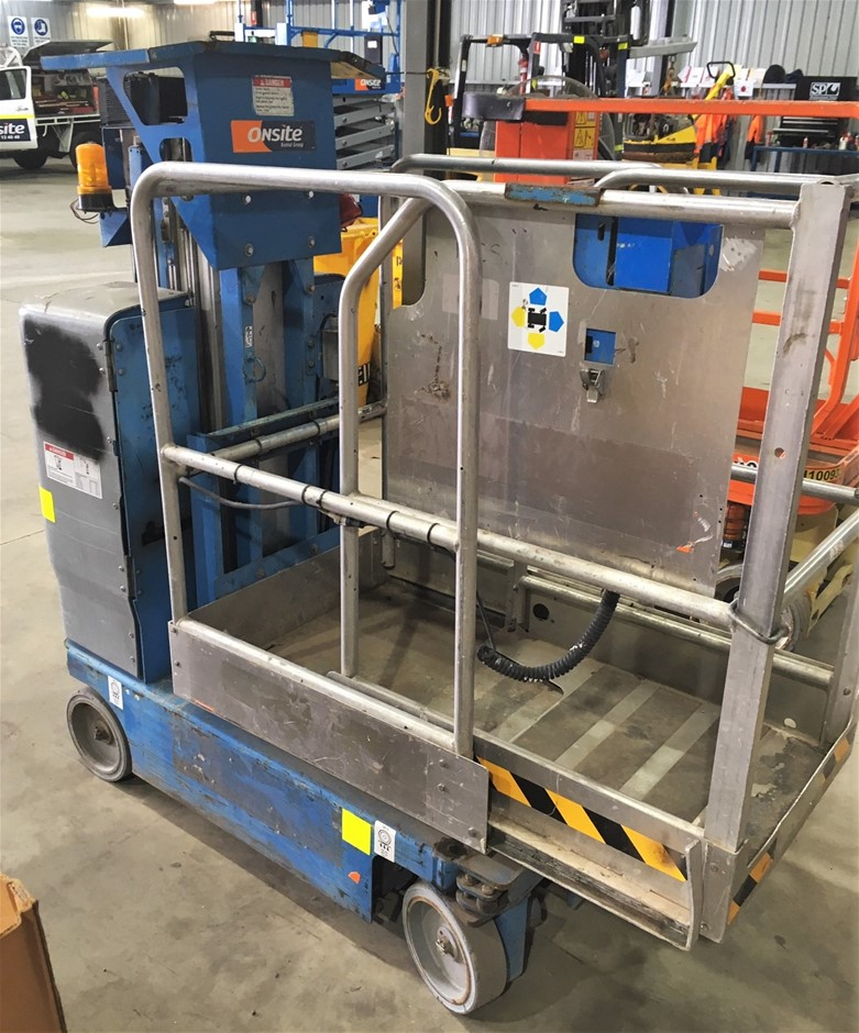 2009 Genie GR15 15ft (4.5m) Electric Personnel Lift (Wingfield, SA)