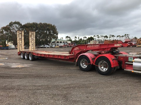 1995 Air Ride AR 2142 Triaxle Low Loader Trailer (Mount Gambier, SA)