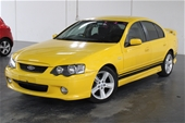 Unreserved 2005 Ford Falcon XR6 BA MKII Automatic Sedan
