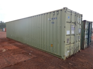 """40"""" Shipping Container"""