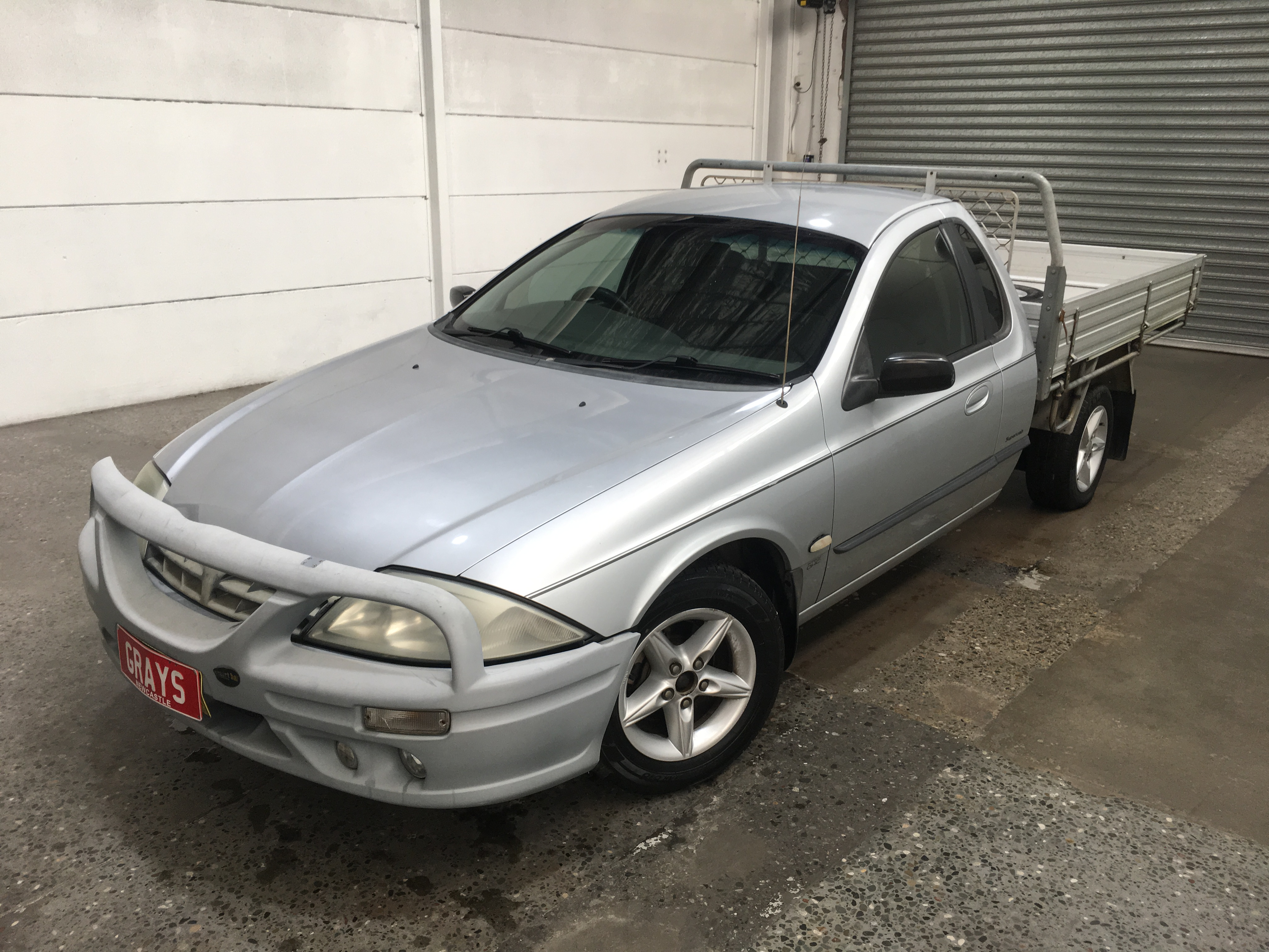 2002 Ford Falcon XL AUII Automatic Cab Chassis