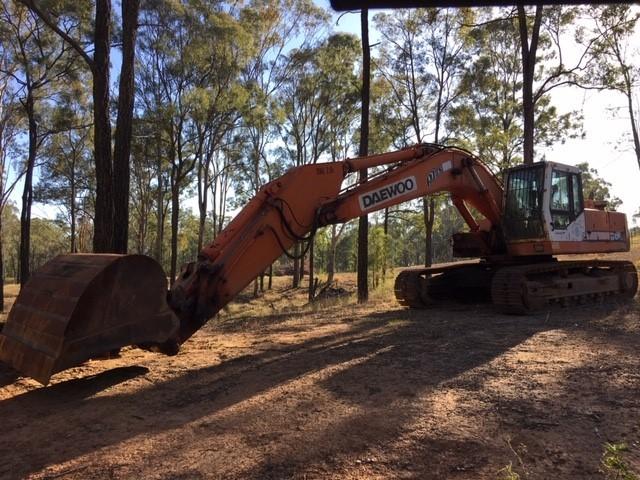 Tracked Excavator, Daewoo, Solar 280LC IH