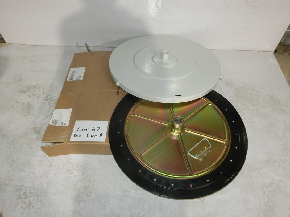 8 x Ecodora Grease Drum Cover and chaser plate (Pooraka, SA)