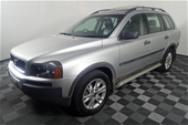 Unreserved 2005 Volvo XC90 2.5T Automatic 7 Seats Wagon