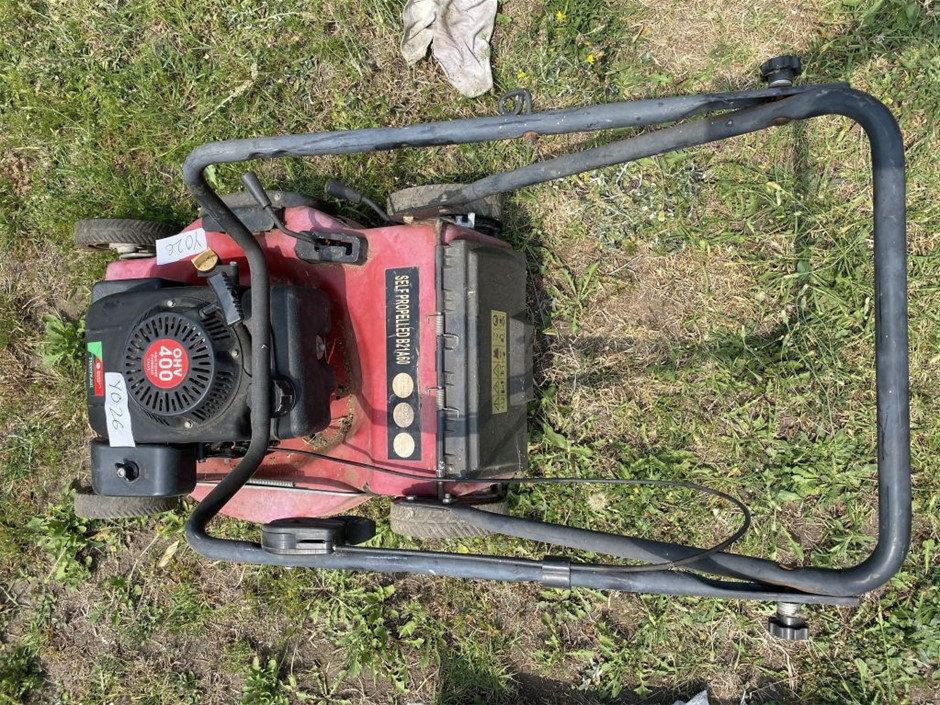Garden`s Choice OHV 400, 4 stroke Mower with Self Propelling Feature Comp
