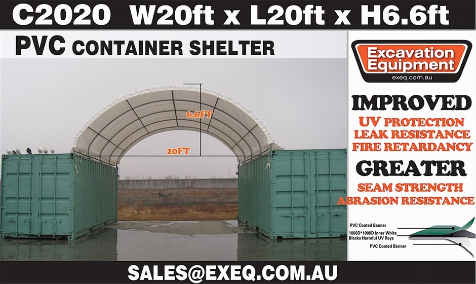Unused Heavy duty 20ft Container Shelter