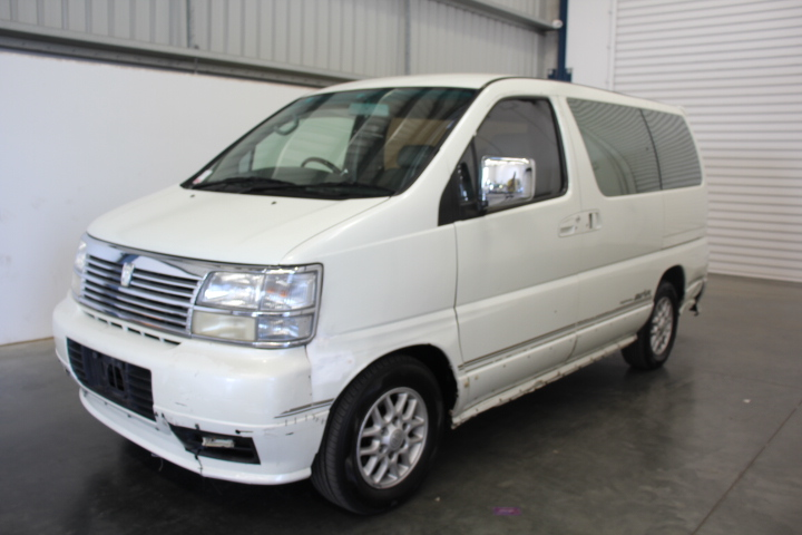 1999 Nissan Elgrand Turbo Diesel Automatic 8 Seats Van