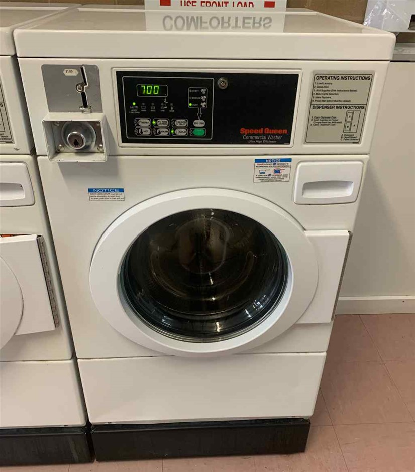Speed Queen Commercial Washer, Front Loader