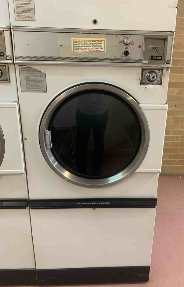 Large Industrial Front Loader Dryer