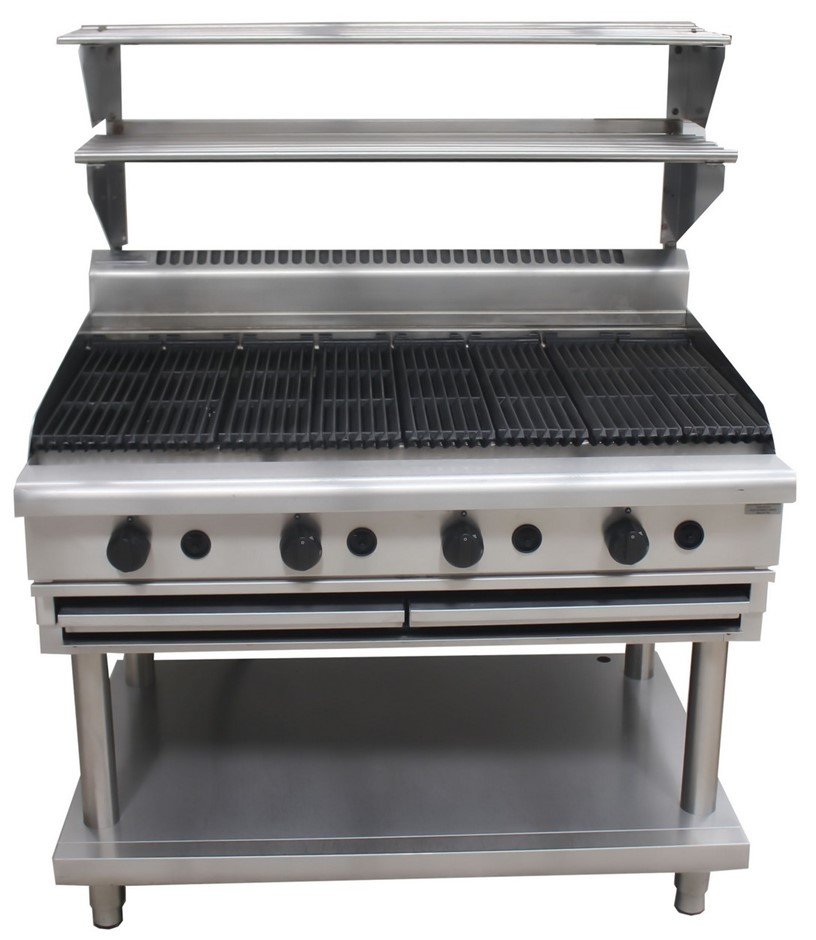 WALDORF GAS 1200MM CHARGRILL, QUALITY COMMERCIAL KITCHEN EQUIPMENT