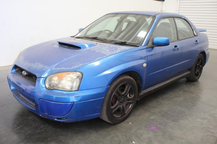 2003 Subaru Impreza WRX (AWD) G2 Manual Sedan