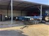 11 Haulmark Tri Axle Triaxle Flat Top Trailer