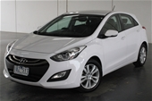 Unreserved 2014 Hyundai i30 TROPHY GD Automatic Hatchback