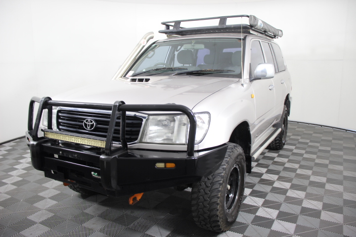 1999 Toyota Landcruiser RV (4x4) HZJ105R Automatic 7 Seats Wagon