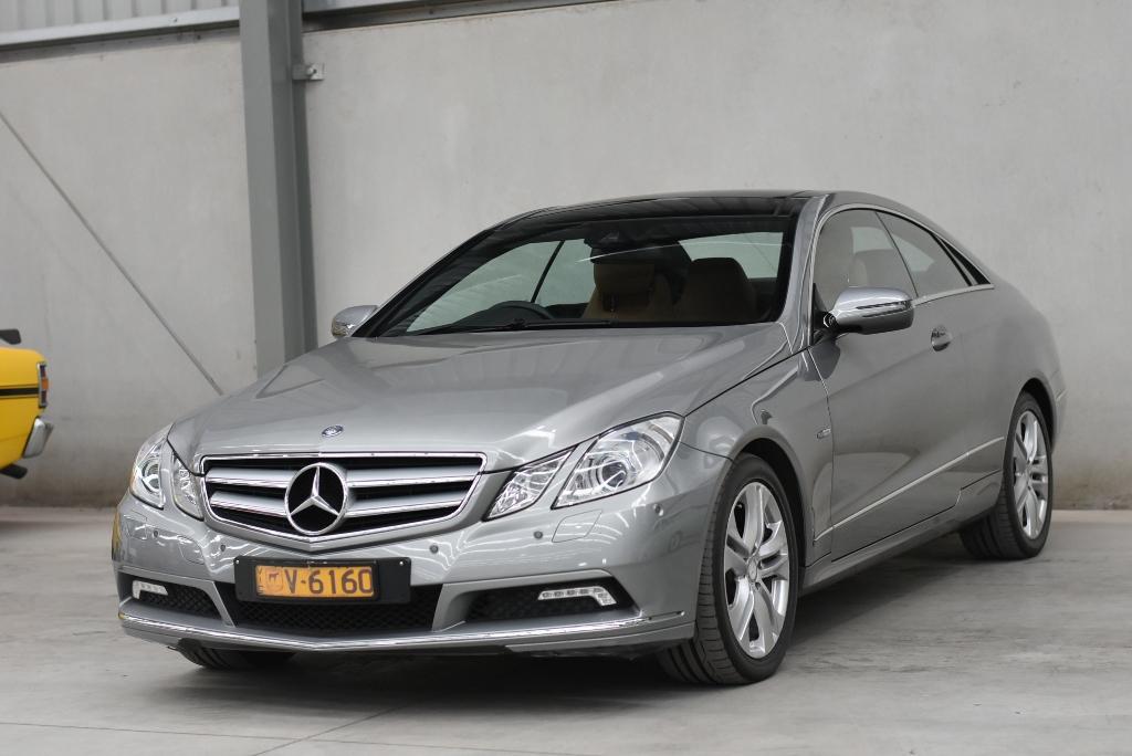 2009 Mercedes Benz E250 CDI Elegance C207 Turbo Diesel Automatic Coupe