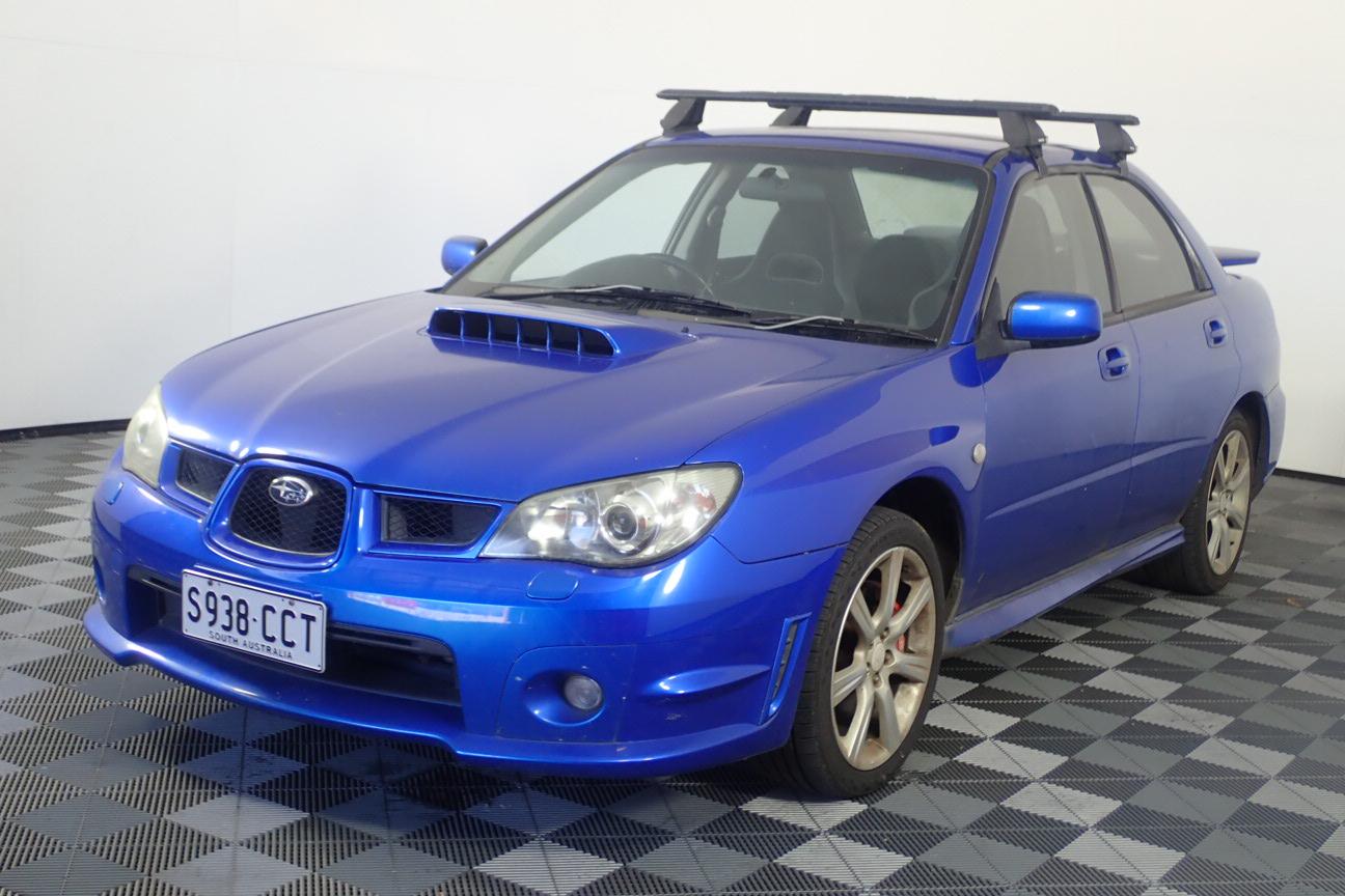 2006 Subaru Impreza WRX (AWD) G2 Manual Sedan