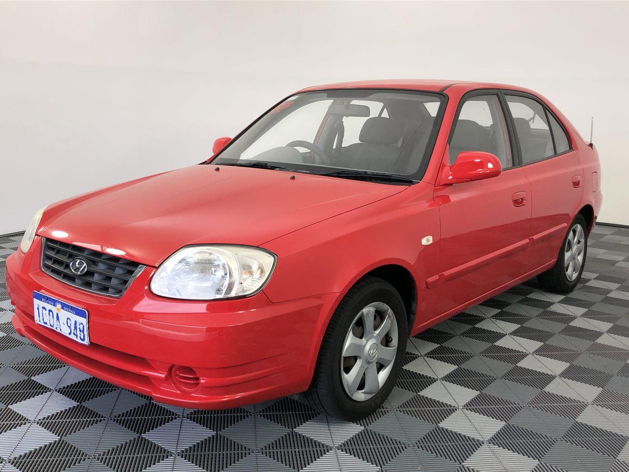 2005 Hyundai Accent 1.6 LS Automatic Hatchback