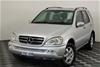 2002 Mercedes Benz ML 500 Luxury (4x4) W163 Automatic Wagon