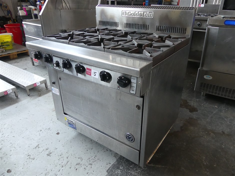 Goldstein PF628 Gas Stainless Steel Range