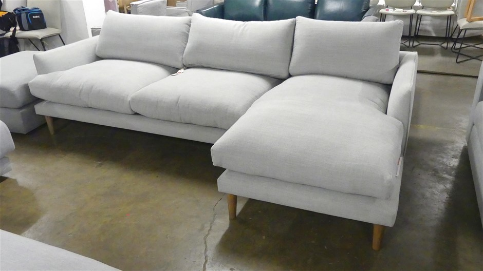 Modular Two seater Lounge plus RHS Chaise Seat