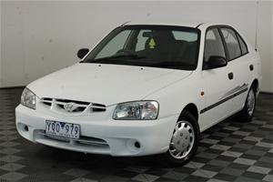 2002 Hyundai Accent GL LS Manual Hatchba