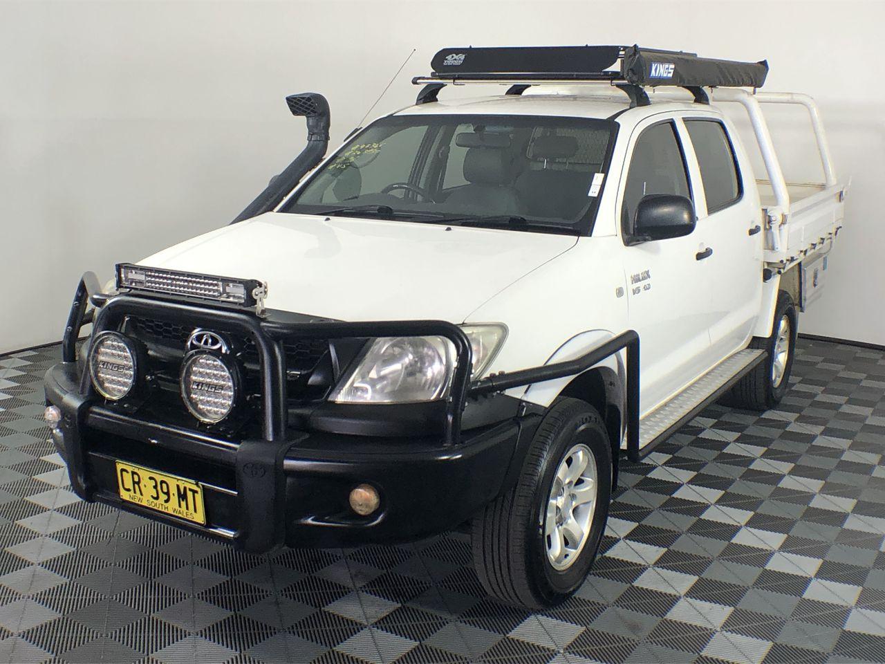 2008 Toyota Hilux SR (4x4) GGN25R Automatic Dual Cab