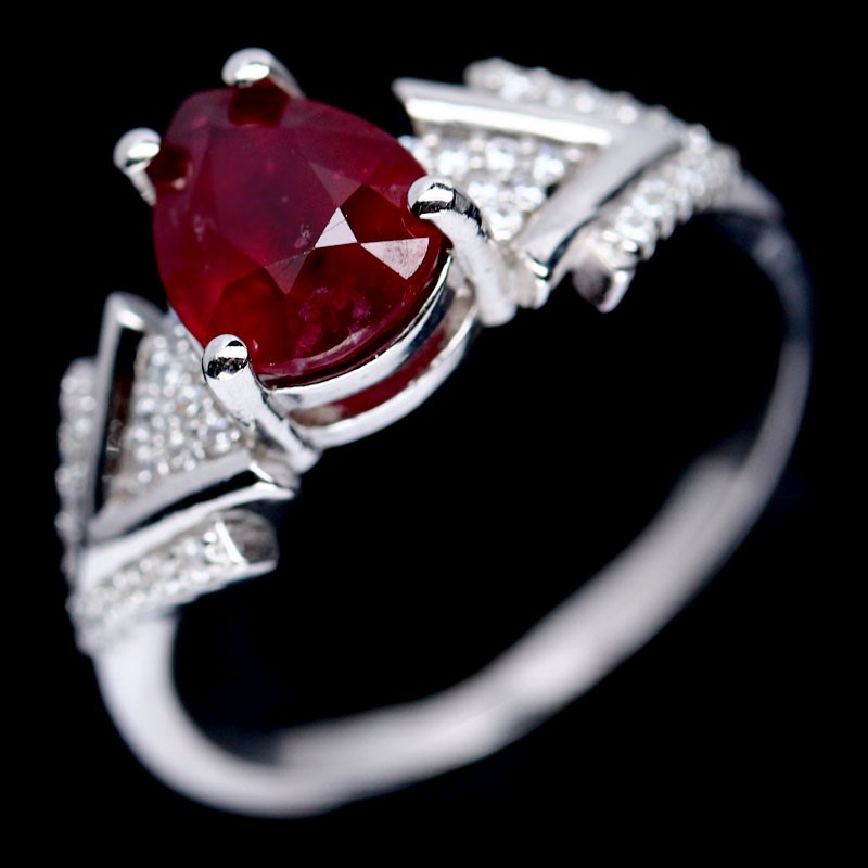 Genuine Ruby Ring.
