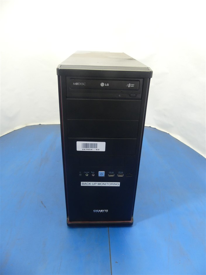 Gigabyte Technology Co., Ltd. To be filled by O.E.M. Mid Tower Desktop PC
