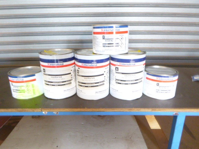 International Interfine 629 Protective Coating Paint