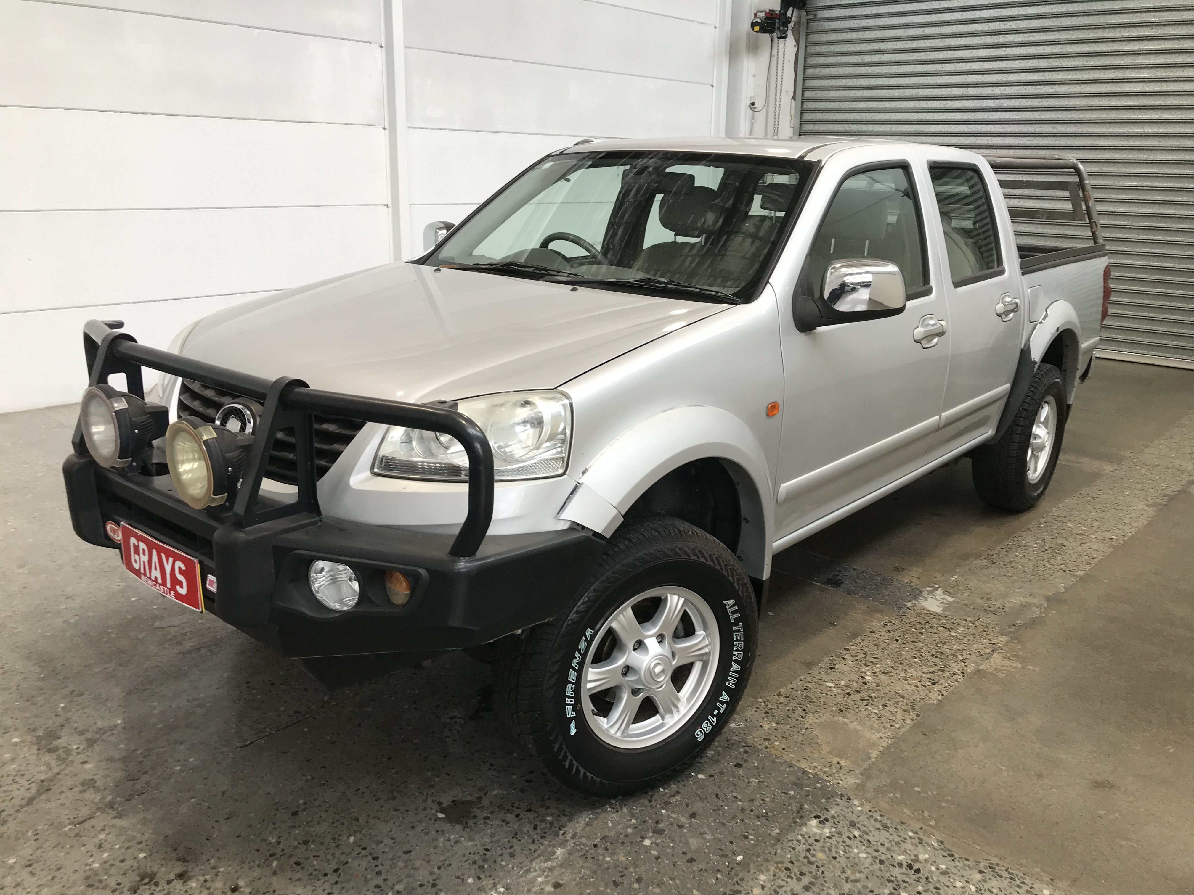 2013 Great Wall V200 4X2 Turbo Diesel Manual Dual Cab