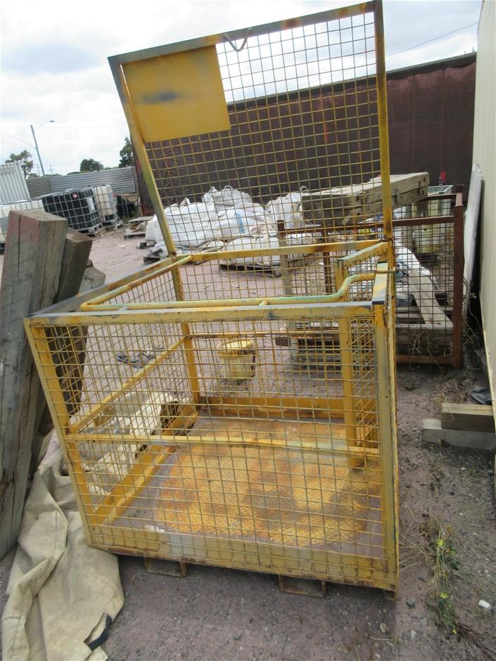 Safety Forklift Cage