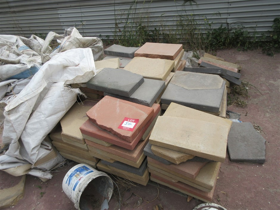 Pallet of Assorted Pavers