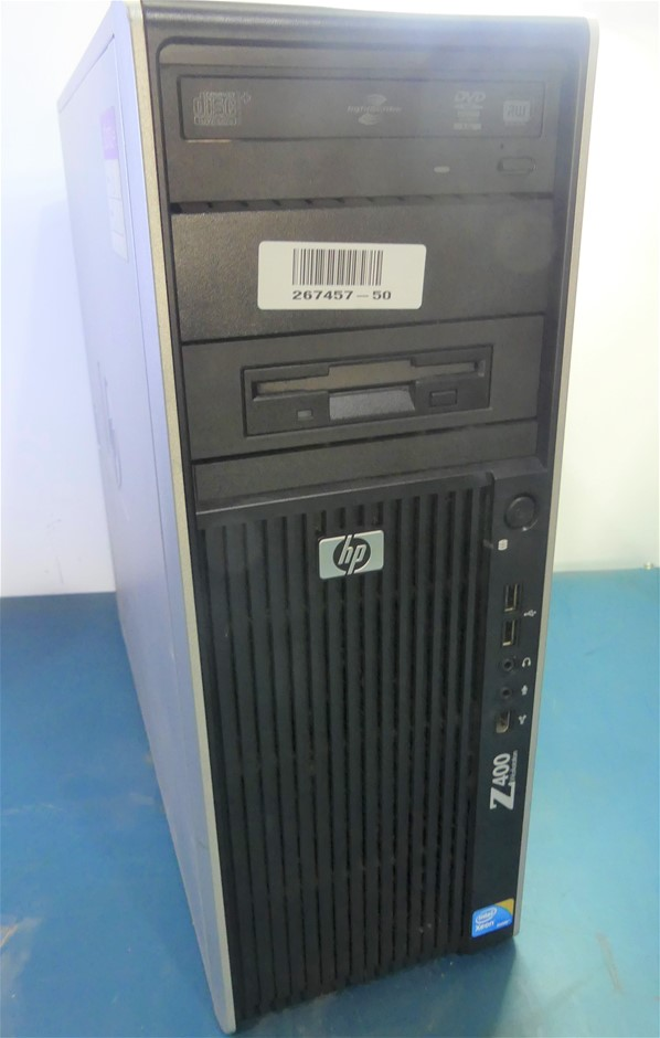HP Z400 Workstation Mid Tower Desktop PC