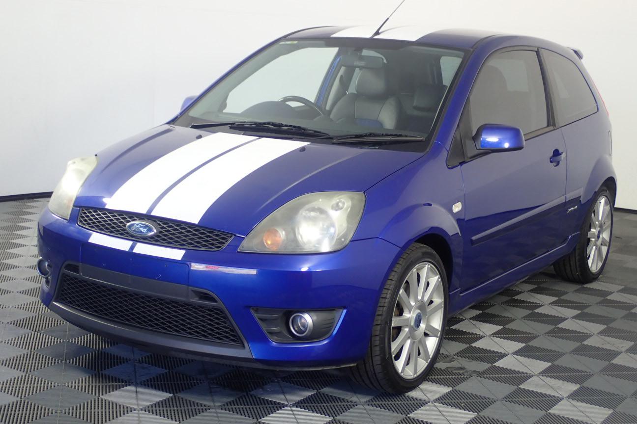 2008 Ford Fiesta XR4 WQ Manual Hatchback