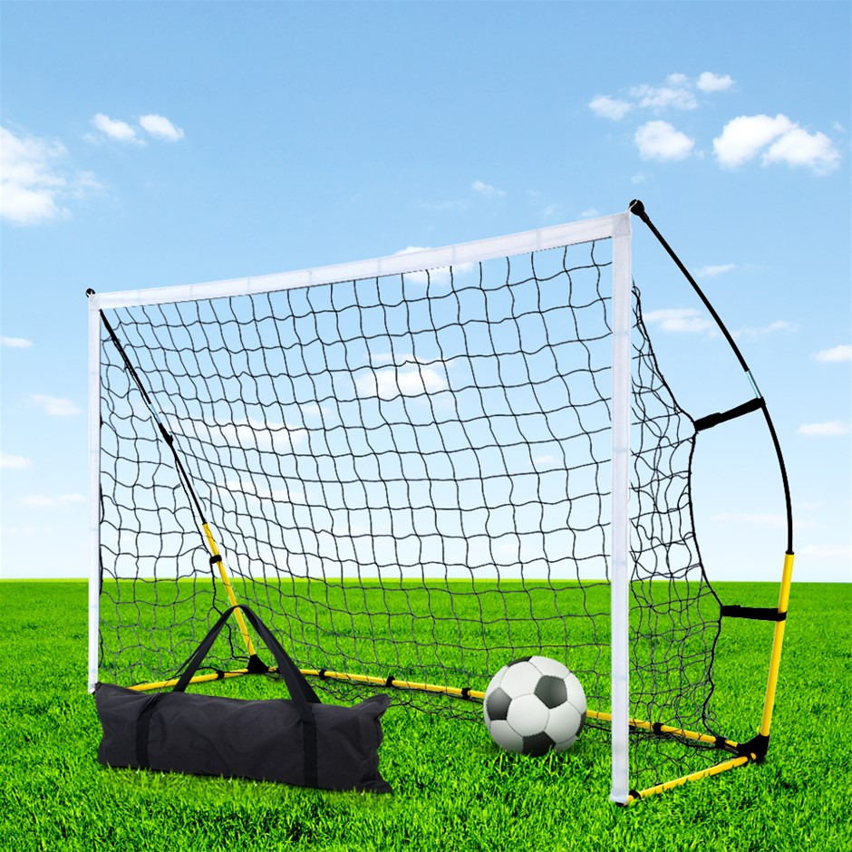 Everfit Portable Soccer Football Goal Net Kids Outdoor Training Sports 3.6M