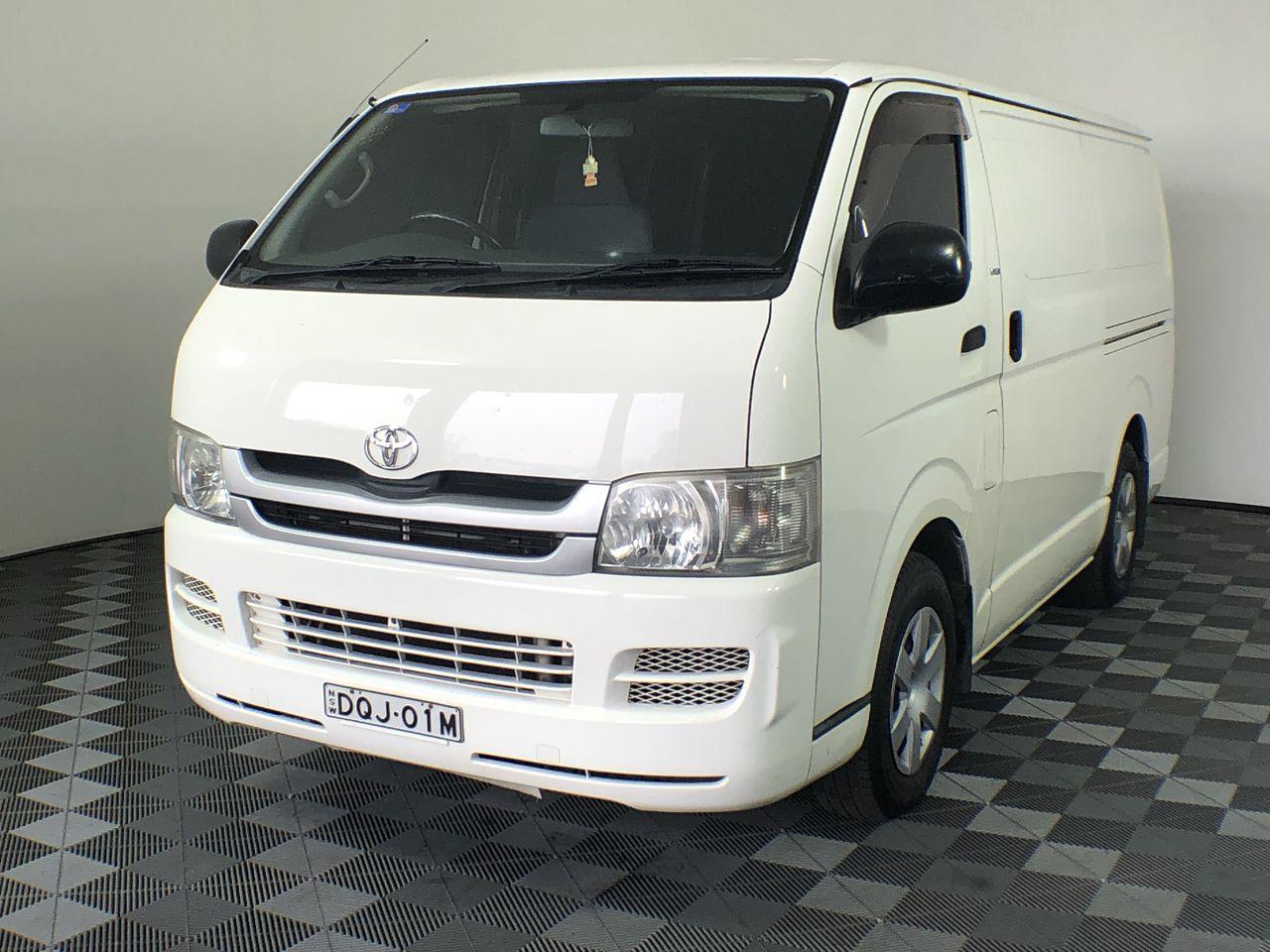 2008 Toyota Hiace LWB KDH201R Turbo Diesel Automatic Van