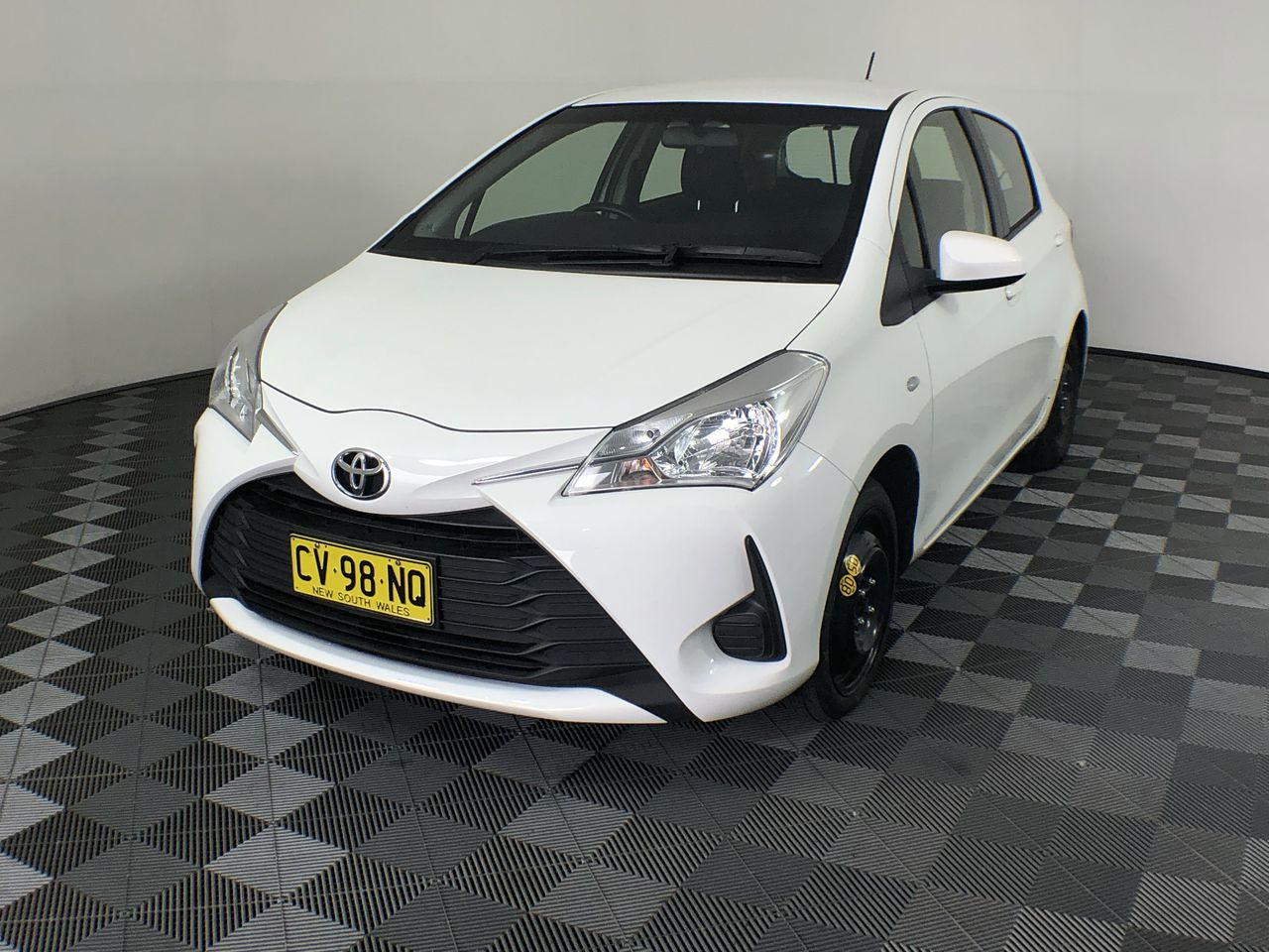 2017 Toyota Yaris Ascent NCP130R Automatic Hatchback