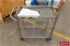 NSF Stainless Steel 3 Tier Trolley
