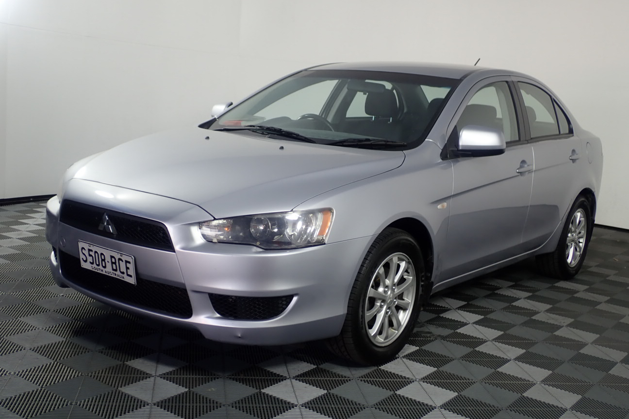2012 Mitsubishi Lancer ES CJ CVT Sedan