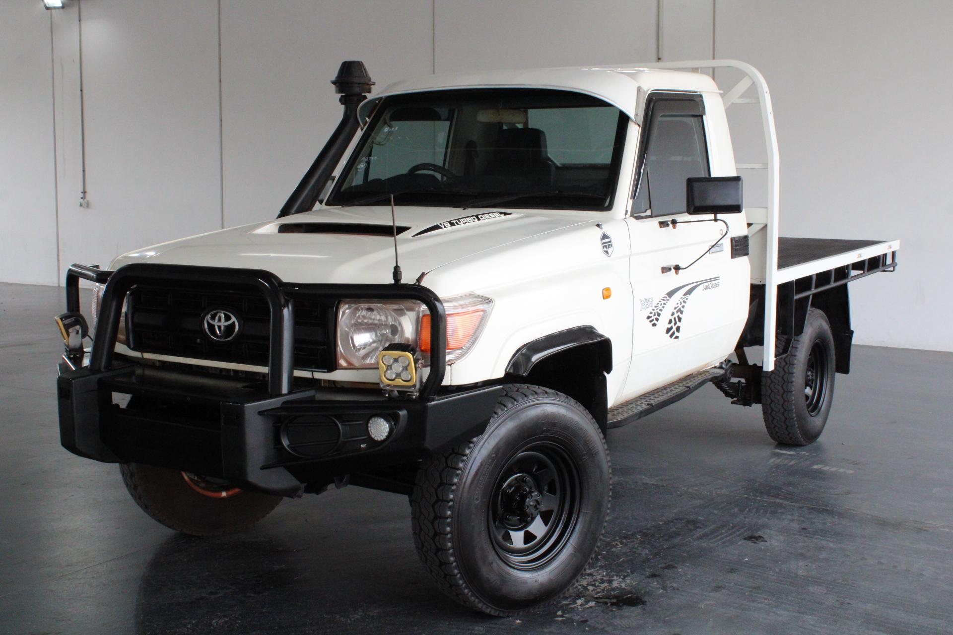 2011 Toyota Landcruiser Turbo Diesel Manual Ute
