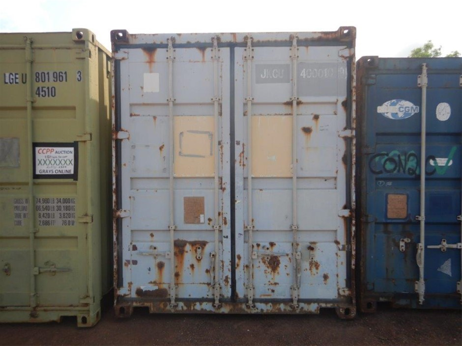"40"" Shipping Container High Cube"