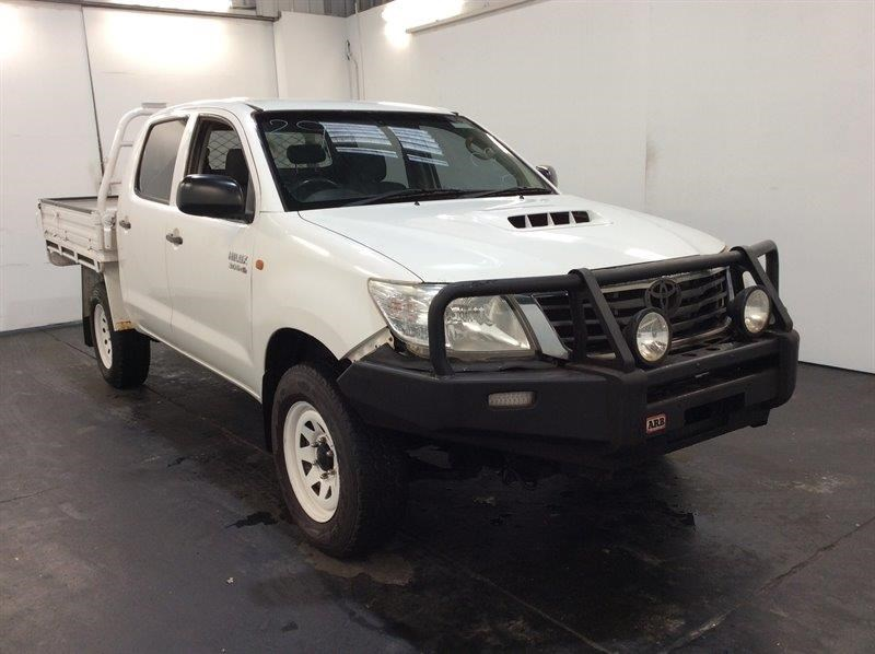 2012 Toyota Hilux 3R 4WD Automatic Dual Cab Chassis