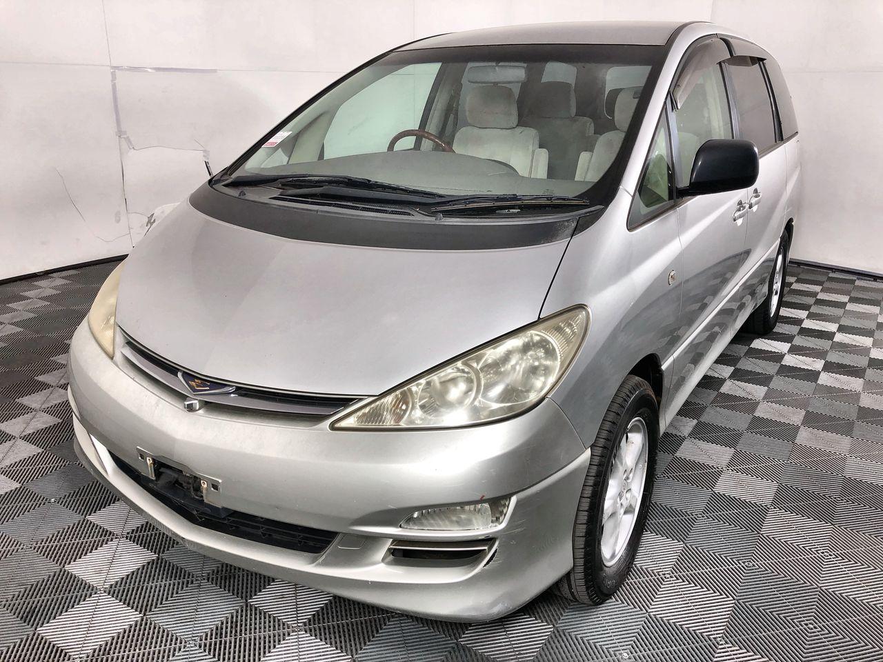 2005 (2012) Toyota Estima (Tarago) Automatic Van (import)