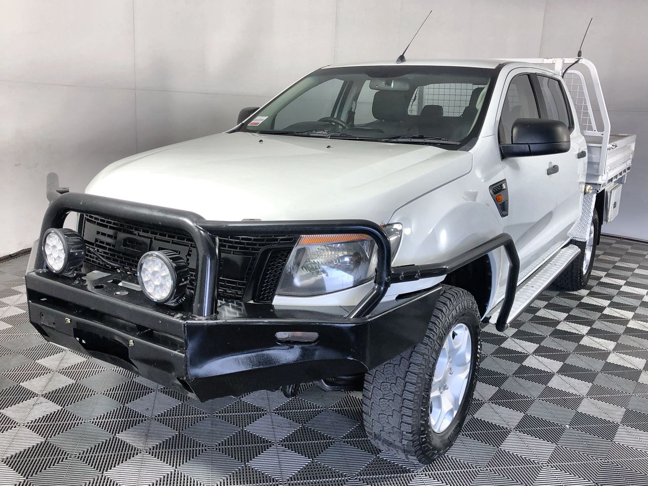 2012 (2013) Ford Ranger XL 4X4 PX Turbo Diesel Auto Dual Cab Chassis