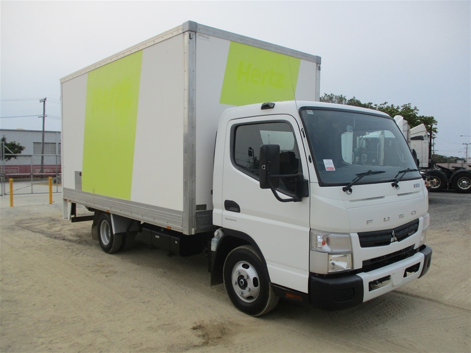 2014 Fuso Canter 515 Auto Turbo Diesel Pantech Truck 103,892km