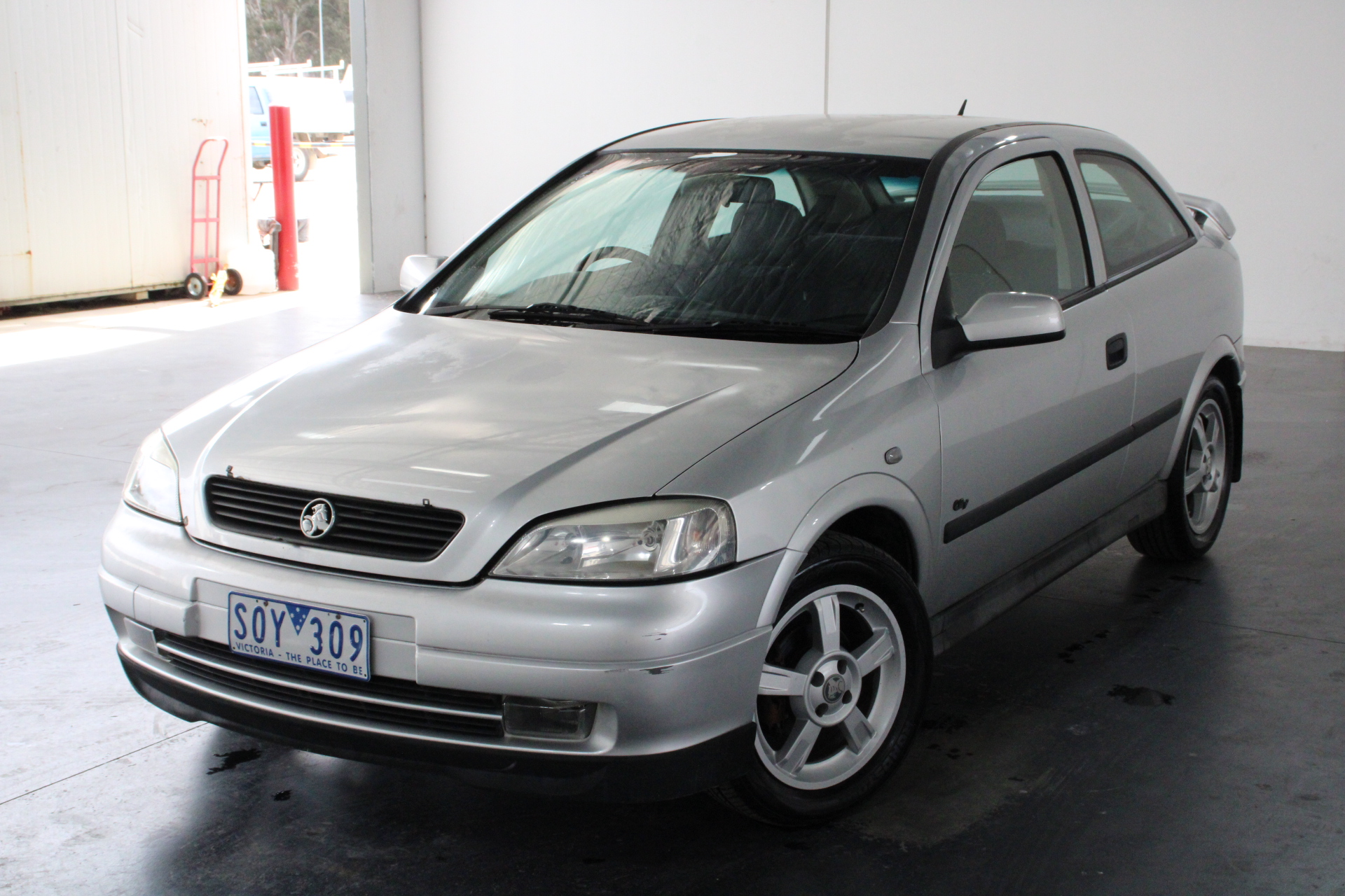 2001 Holden Astra City TS Automatic Hatchback (WOVR)